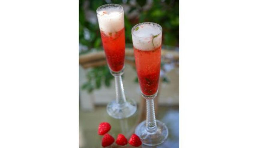 Strawberry Sparkle Valentine Day