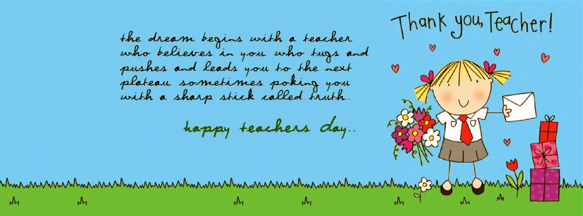 Happy Teachers Day FB Covers, Photos, Banners 2015 6