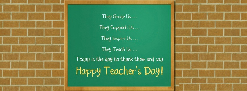 Happy Teachers Day FB Covers, Photos, Banners 2015 7