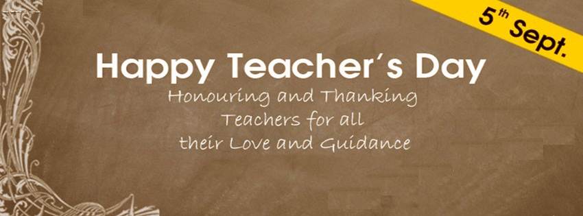 Happy Teachers Day Facebook Covers, Photos, Banners 2015 1