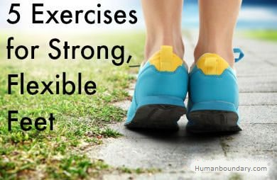 5 Foot Exercises