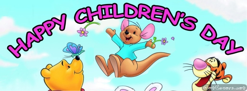 Happy Childrens Day FB Cover Photos, Banners & Pictures