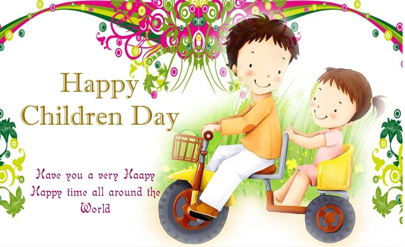 Happy Childrens Day Images, HD Wallpapers, and Photos (Free Download)