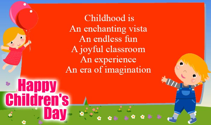 Happy Childrens Day Quotes Images
