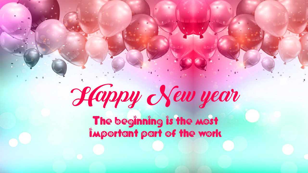 Happy New Year Greetings Cards 2019