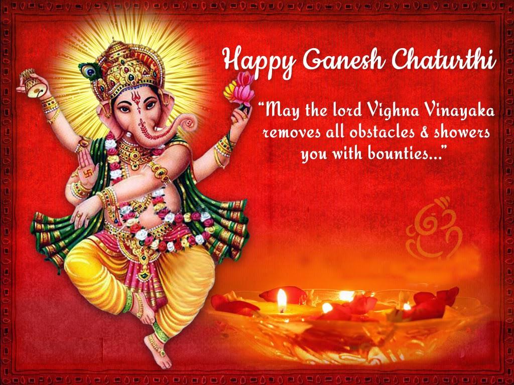 Ganesh Chaturthi Facebook & Whatsapp Status & Messages