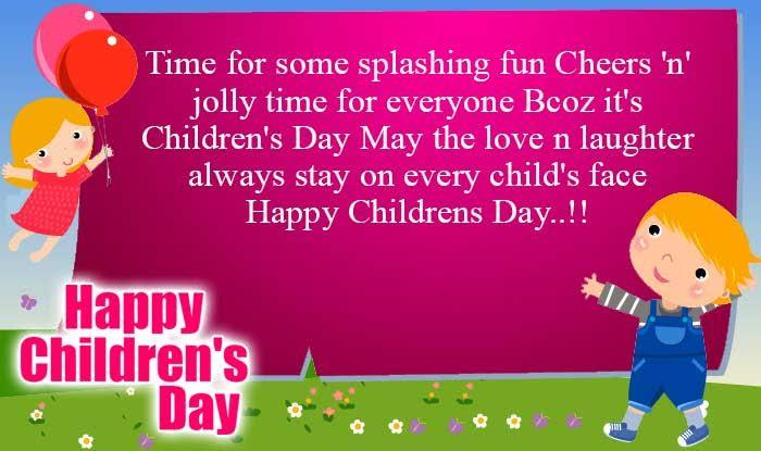 Facebook Status For Children's Day