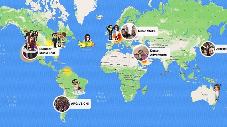 Child Security At Risk Owing To Snapchat Map Update