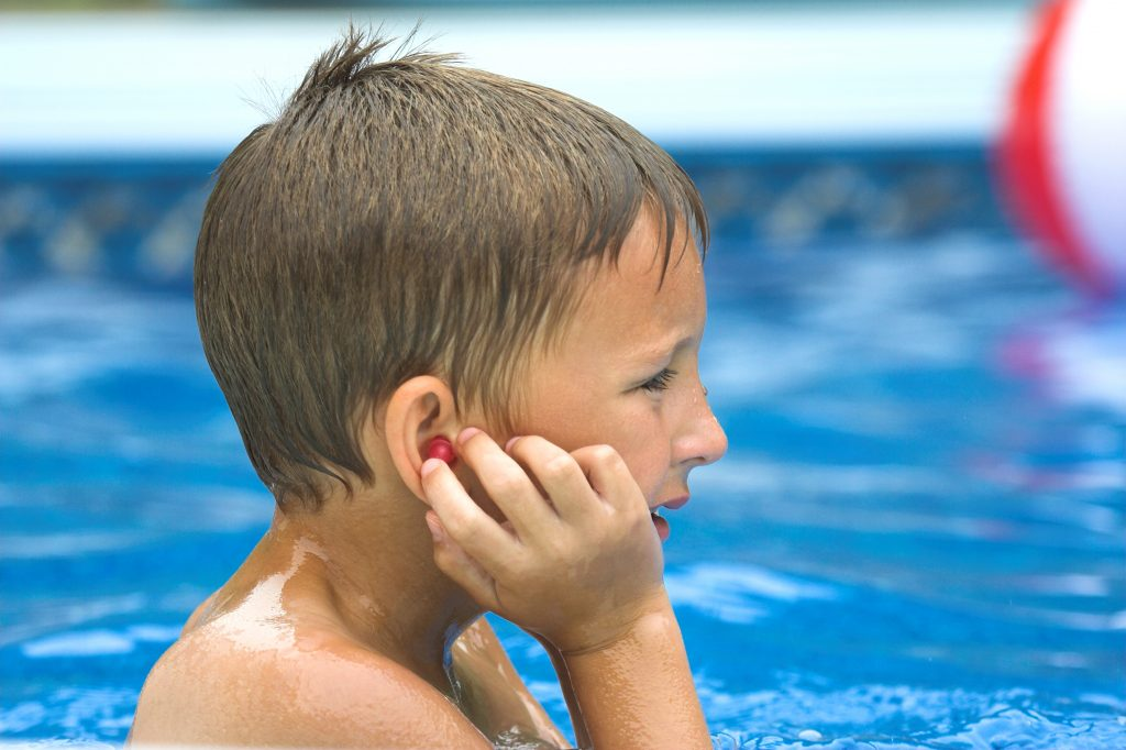 Protect The Ears While Swimming