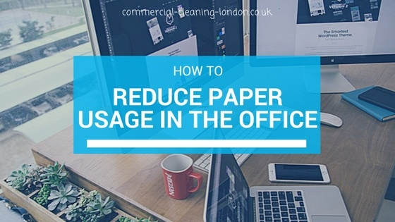 Ways of Reducing Paper Usage in Office