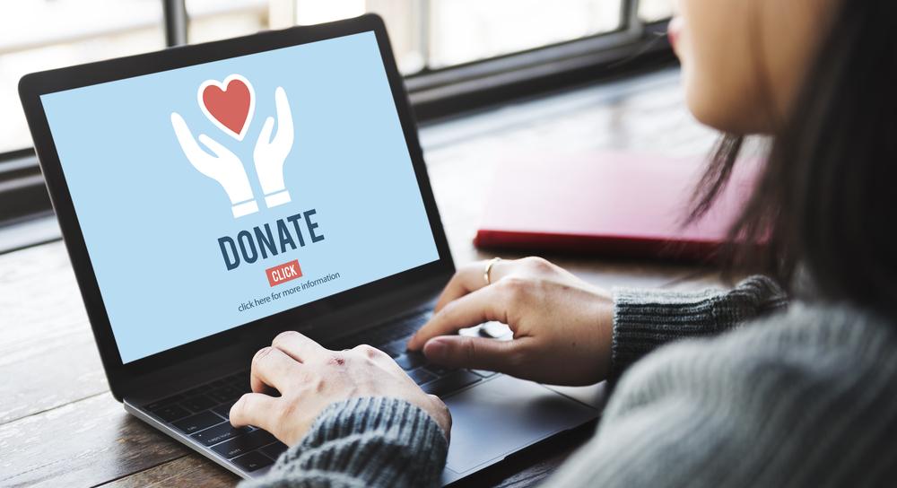 Online donation